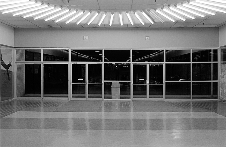 Exit, Eastland Mall, North Versailles, PA.